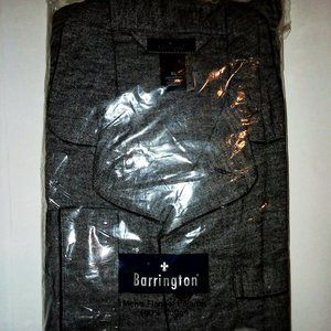 Barrington Men's Gray Flannel Pajama Set XL NWT